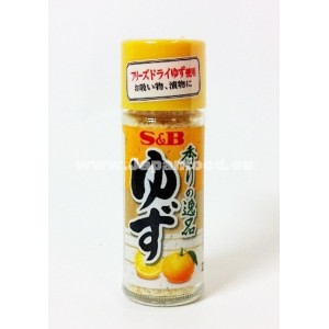 S&B Yuzu Powder (Freeze Dried Citrus Seasoning) - 4.5g