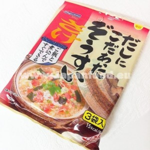 Instant rice porridge mix (samon) - 6.3g×3pcs